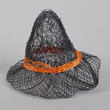 Black Sinamay Witch Hat