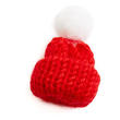 Red Mini Knit Hats