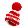 Red White Mini Knit Hats