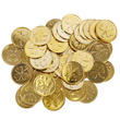 Gold St. Patrick's Day Good Luck Coins