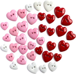 Dress It Up Heartbreaker Buttons