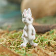 Dollhouse Miniature White Bunny