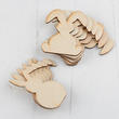 Assorted Unfinished Wood Floppy Ear Bunny Cutouts