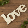 """Love"" Wood Cutout"