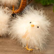 Fuzzy Feathered Artificial Baby Chick