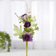 Artificial Purple Rose Pick
