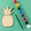 DIY Unfinished Wood Pineapple Craft Kit