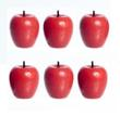 Dollhouse Miniature Red Apples
