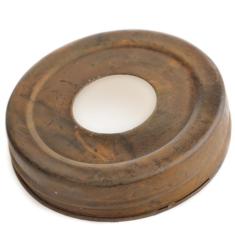 Rusted Tin Mason Jar Lid