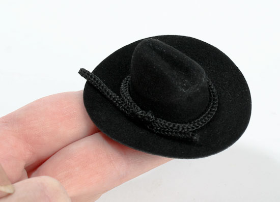Mini cowboy hats for centerpieces party invitations ideas for Small cowboy hats for crafts