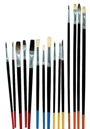 assorted paint brushes set brushes and accessories painting
