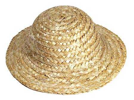 Miniature Straw Doll Hats Doll Hats Doll Supplies