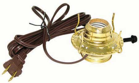 Electrified Oil Lamp Making Kit Lamp Making Basic