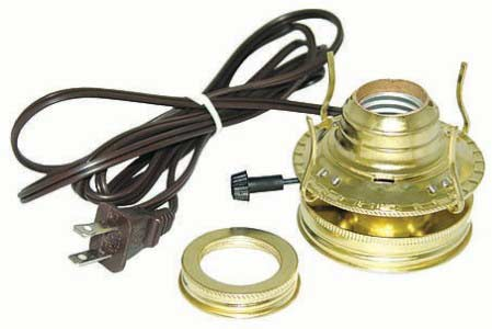 Electric Mason Jar Lamp Kit