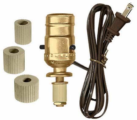 Bottle Adapter Lamp Kit Lamp Making Basic Craft