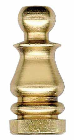 Solid Brass Lamp Finials - Lamp Making - Basic Craft Supplies ...