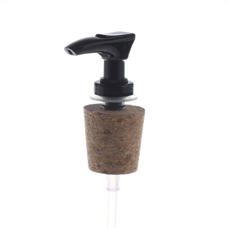 Cork Pump for Soap Dispenser http://factorydirectcraft.com/catalog/products/1302_2094-3613-black_soap_dispenser_pump_with_natural_cork.html