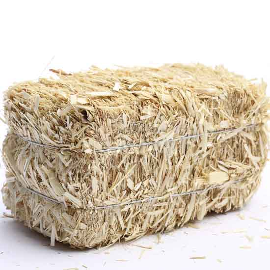Miniature Natural Straw Hay Bale - Western Theme - Party ...