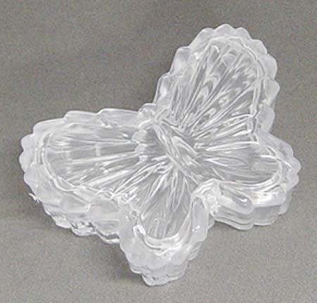 Clear Frosted Acrylic Butterfly Favor Boxes Favor Boxes And Bags
