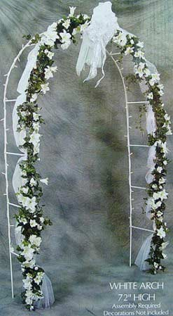 7 12 white indoor or outdoor wedding arch wedding ceremony 7 12 white indoor or outdoor wedding arch junglespirit Images