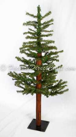 3 Foot Primitive Alpine Skinny Christmas Tree Trees And