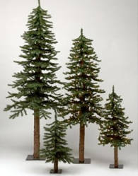6 Ft Alpine Skinny Country Christmas Tree Trees And