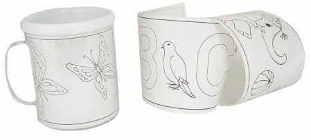 Child 39 S Design A Mug Set Kids Craft Kits Kids Crafts