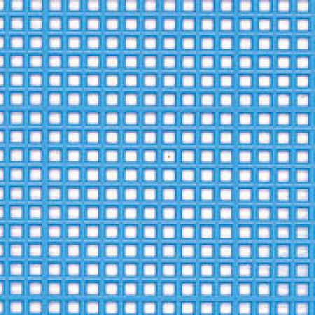 Blue plastic mesh canvas sheets plastic canvas basic for Plastic grid sheets crafts