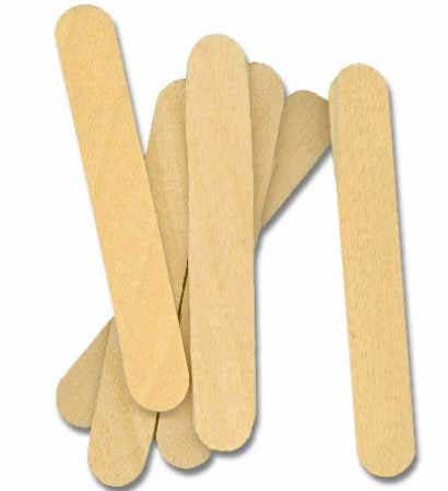mini unfinished wood craft sticks popsicle sticks and fan sticks