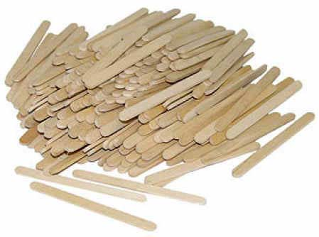 Unfinished wood craft sticks popsicle sticks and fan for Wood craft supply stores