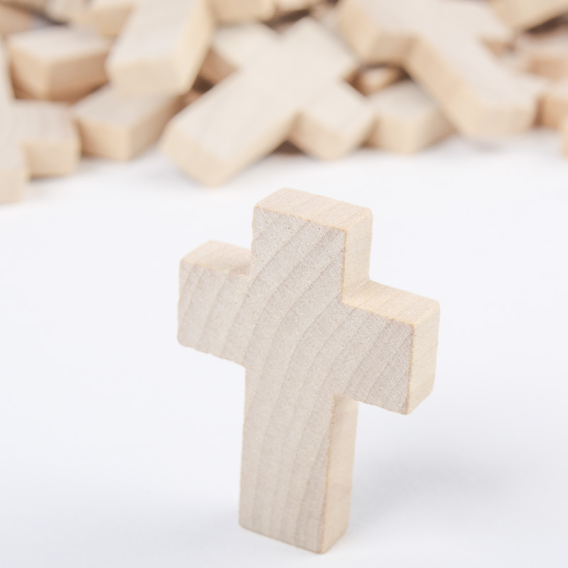 Unfinished Wood Craft Crosses