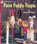 Paint Paddle People Book Dorothy Egan - Paint Stir Stick Designs