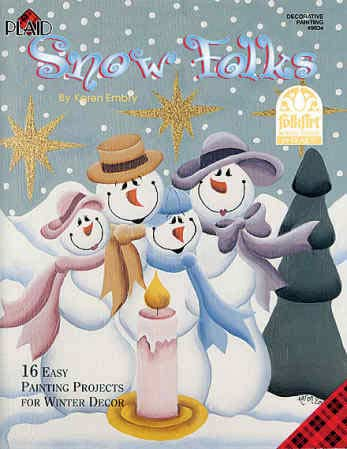 Tole Painting - Wood Craft Patterns - Christmas Crafts