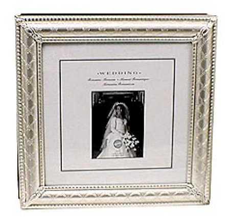 Silver Embossed Wedding Anniversary Photo Album Anniversary 25th