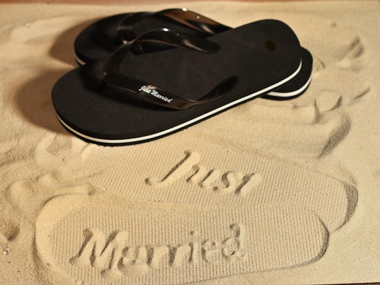 groom wedding beach flip flops size 11 12 beach theme wedding