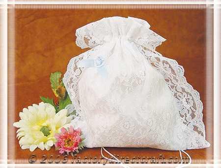 Lace and Satin Brides Purse Dance Money Bag Money Bags Bridal Purses