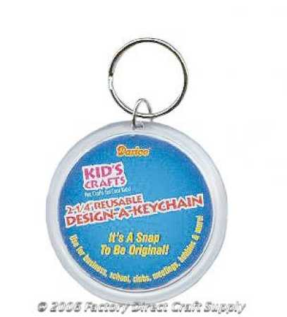 Bulk pack reusable design a keychains activity kits for Craft kits for kids in bulk