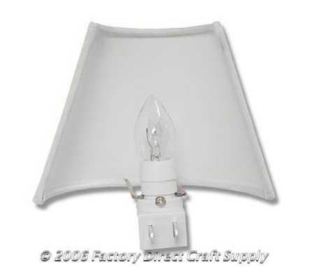 Muslin Lamp Shade And Night Light Kit Lamp Making
