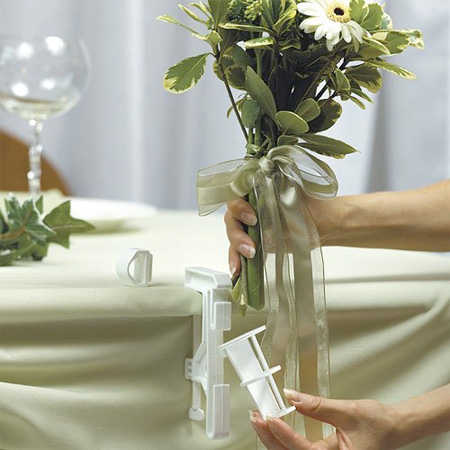 Wedding Bouquet Display Table Decorating Bouquet Holder Floral Design