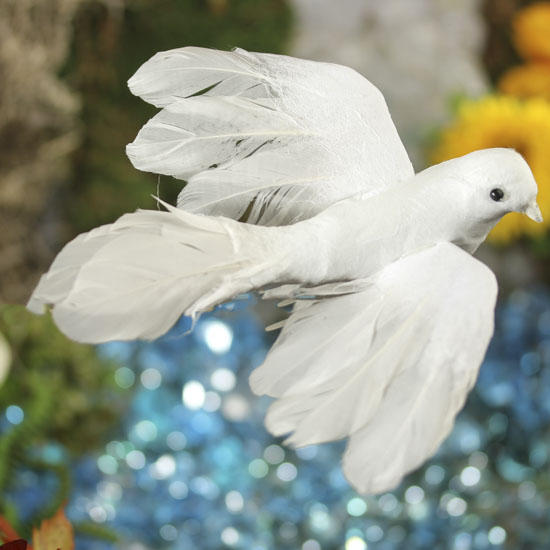 Christmas Tree Doves: Birds & Butterflies