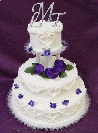 4 12 letter n mirror initial cake topper