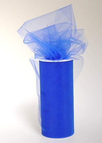 Royal Blue Tulle Netting - 25 yards