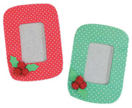 Foamie Foam Christmas Magnet Frame Kit - Makes 15 - Activity Kits ...