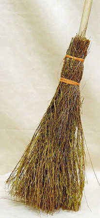 42 natural straw witch heritage halloween broom brooms for Straw brooms for crafts