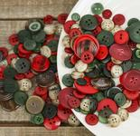 Buttons Galore Holiday Christmas Buttons