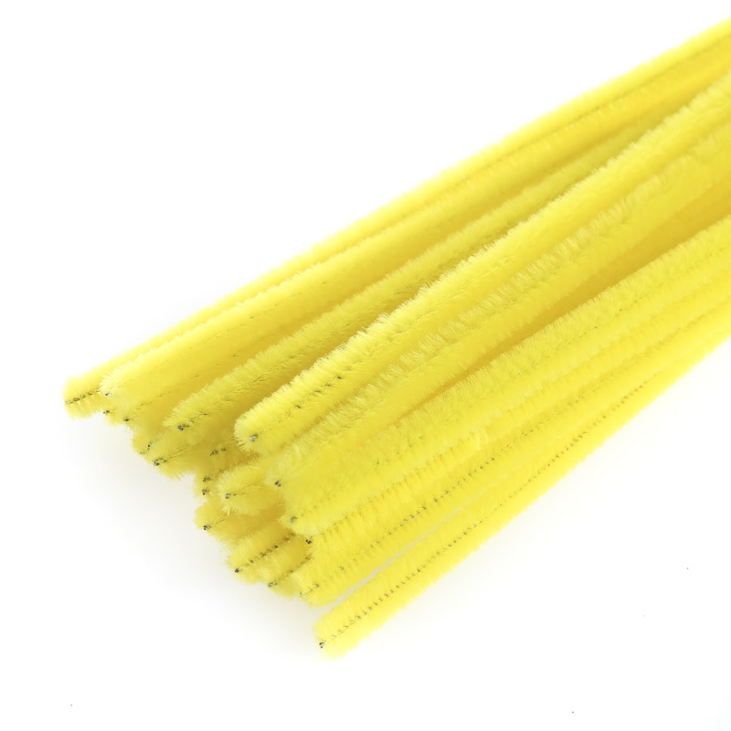 yellow pipe cleaners - Western Wedding Supplies