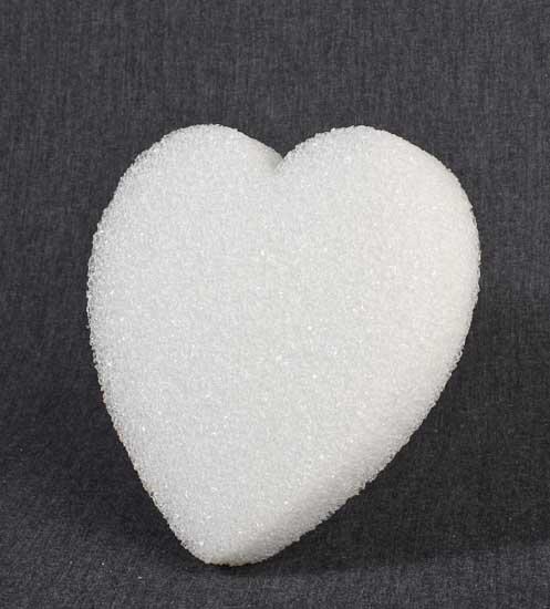 6 styrofoam heart sheet styrofoam basic craft for Soft foam sheets craft