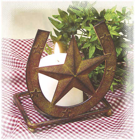 Western Party Decorations on Horseshoe Candle Holder   Western Theme   Party   Special Occasions