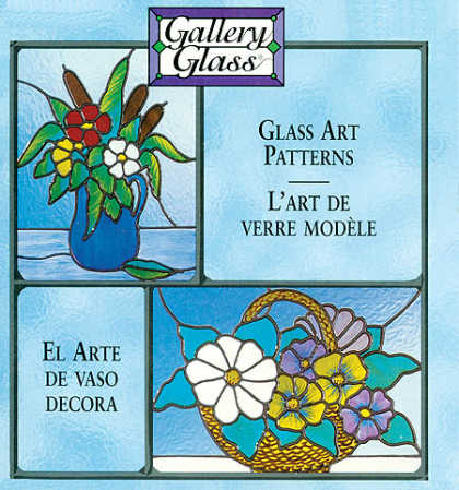 "Gallery Glass Art Patterns Floral Still Lifes 2 8"" x 10"" Pattern"