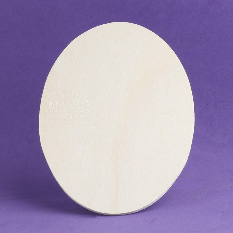 Unfinished wood oval cutout wooden plaques and signs for Wood plaques for crafts